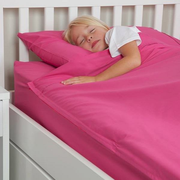 Kids Zip Sheets Bed