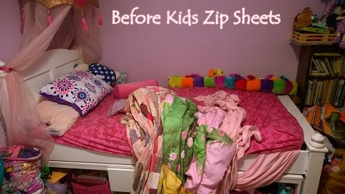 First Kids Zip Sheets Review Here In The USA