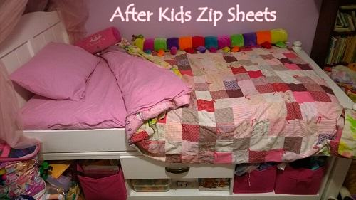 kids zip sheets review