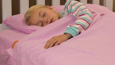Lilac Kids Flannel Sheets for Girls