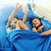 Blue Kids Zip Sheets