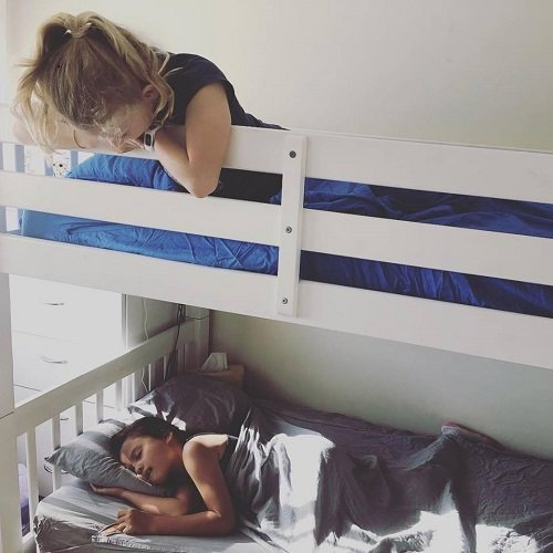 Kids Zip Sheets on a Bunk Bed